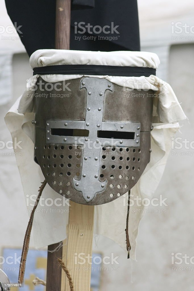 knights helmet royalty-free stock photo