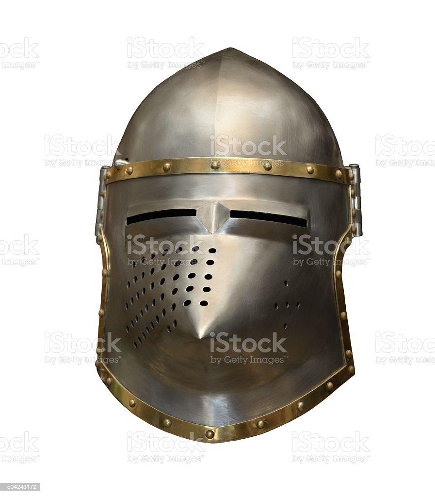 Knight's Helmet royalty-free stock photo