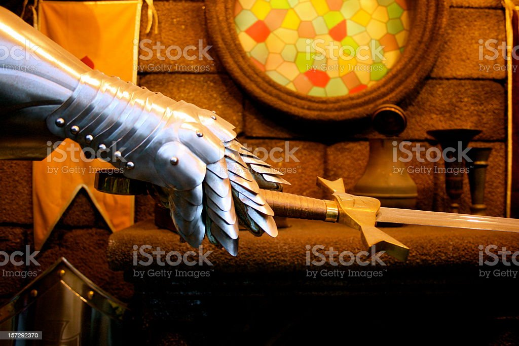 Knight's investiture royalty-free stock photo