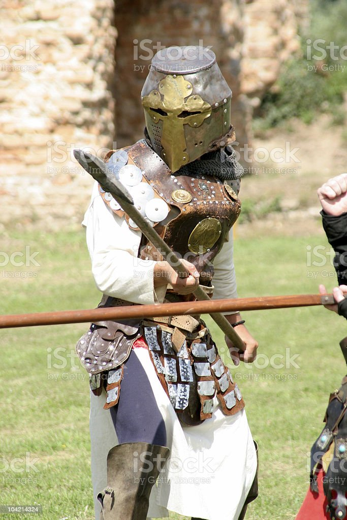 chevaliers royalty-free stock photo