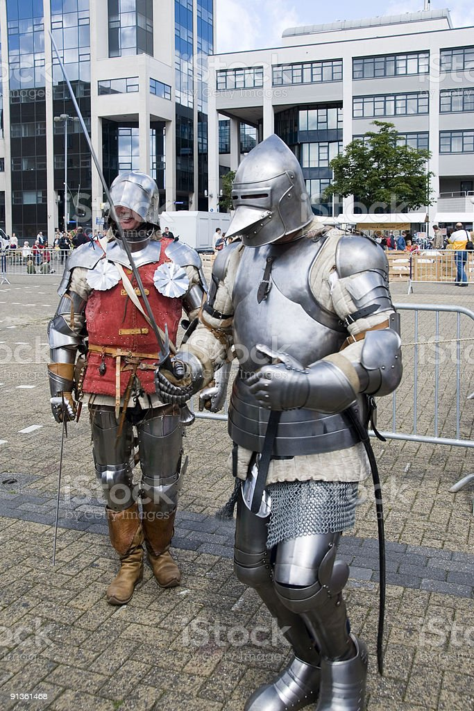 Knights royalty-free stock photo
