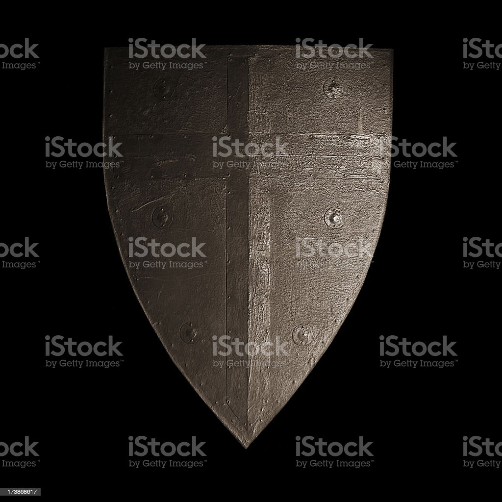 Knight's Shield stock photo