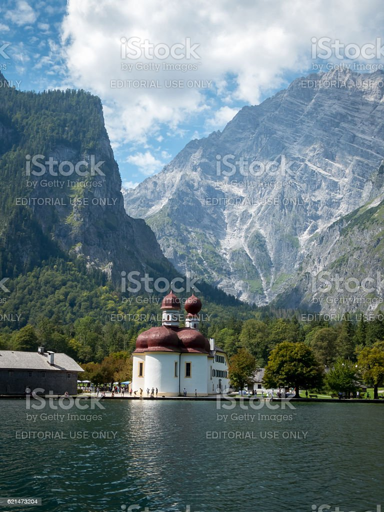 Königsee stock photo
