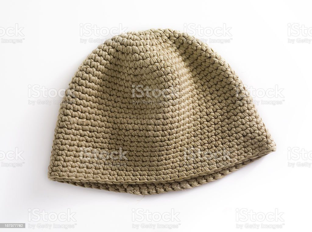 Knit beanie royalty-free stock photo