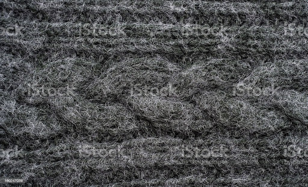 Knitted black background royalty-free stock photo