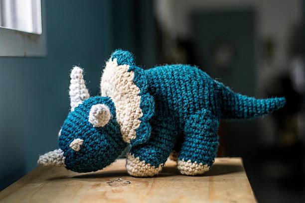 Häkeln Dinosaurier Muster - Bilder und Stockfotos - iStock