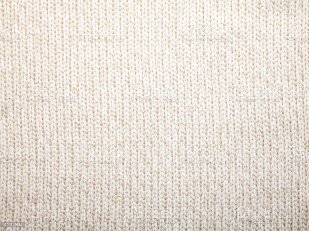 Knitted fabric cloth sample stock photo