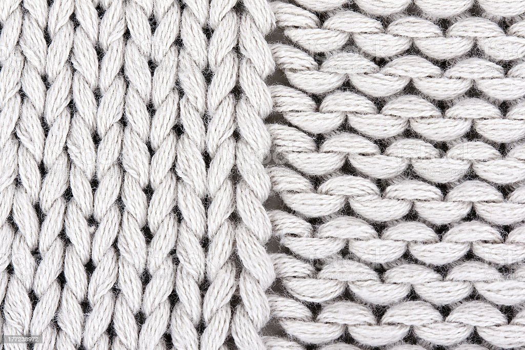 knitted gray background closeup. royalty-free stock photo