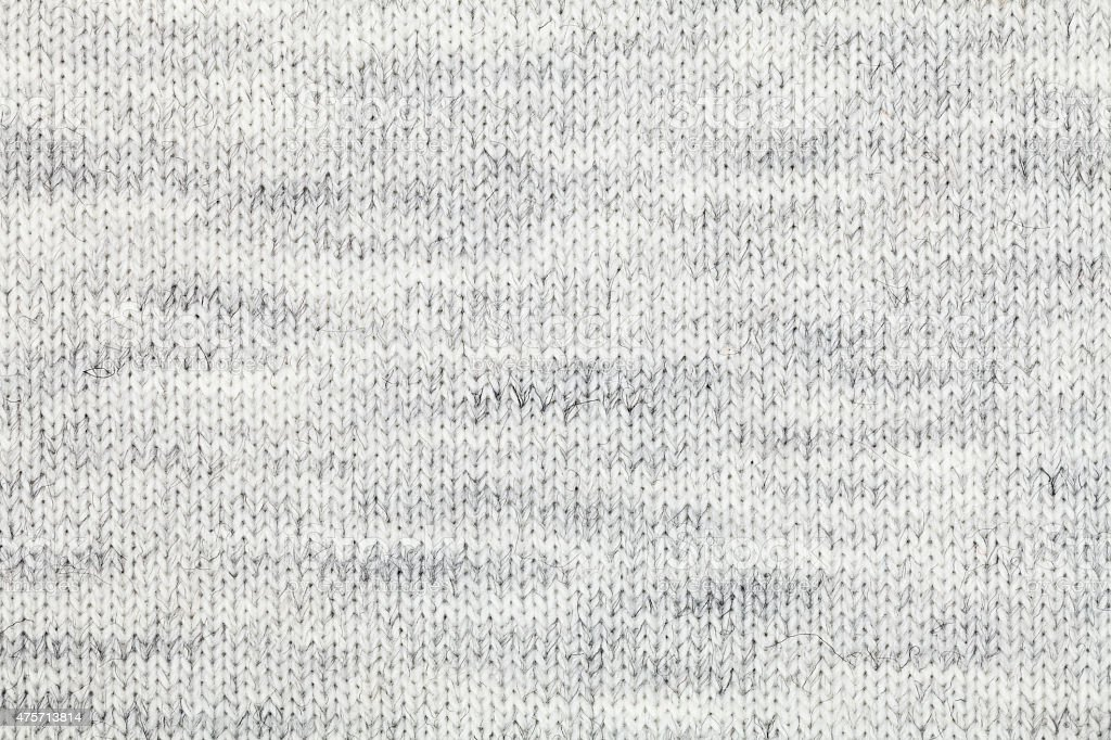 Knitted melange textile pattern stock photo