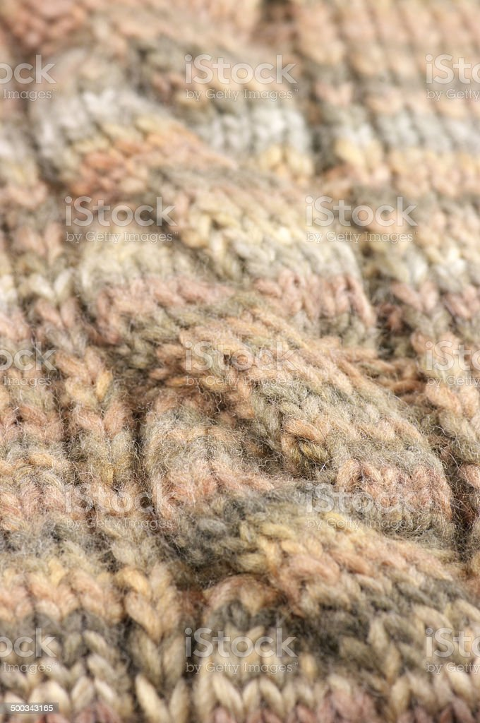 Knitted pattern royalty-free stock photo