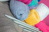 Knitted sweater.  handmade