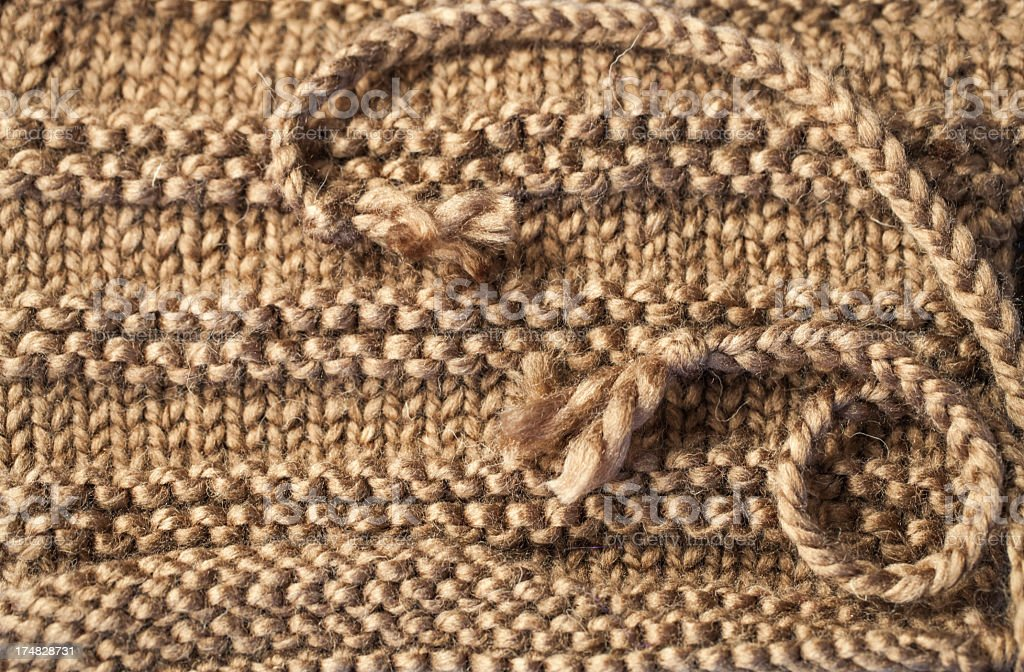 Knitted texture royalty-free stock photo