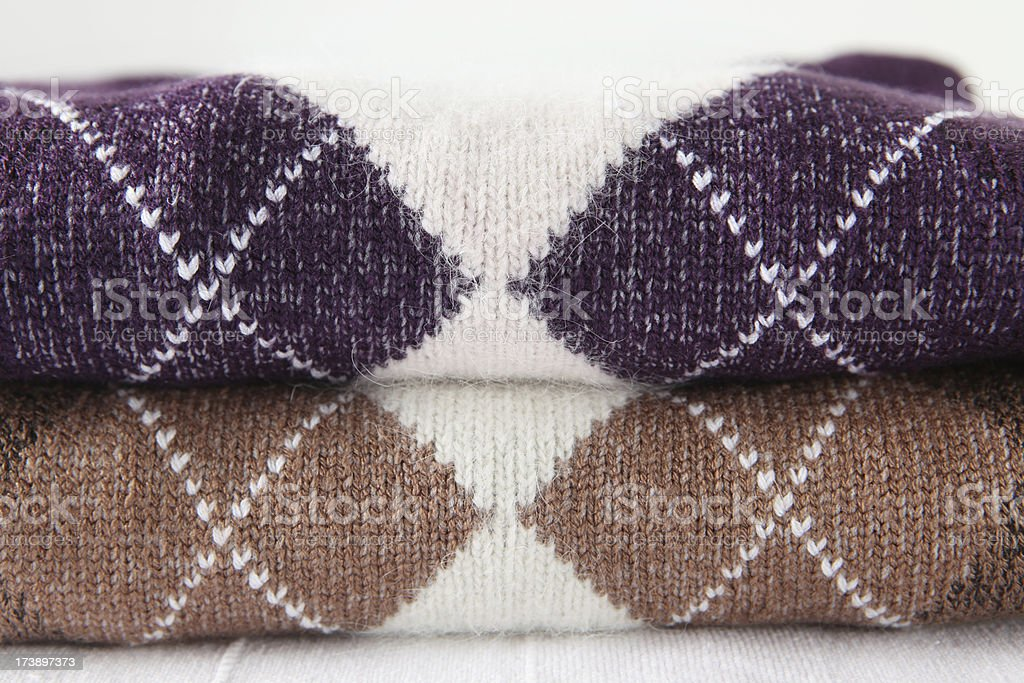 knitted ware stock photo