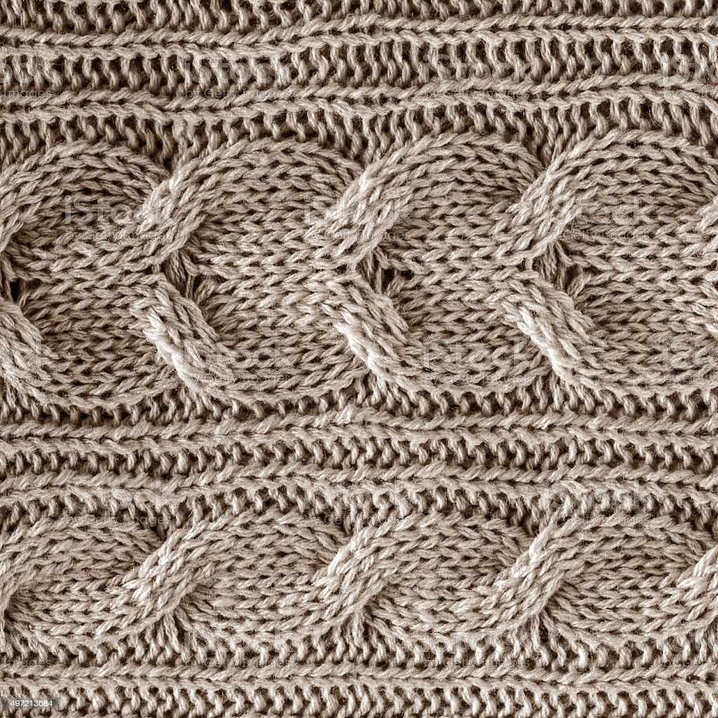 Knitted Wool Background stock photo