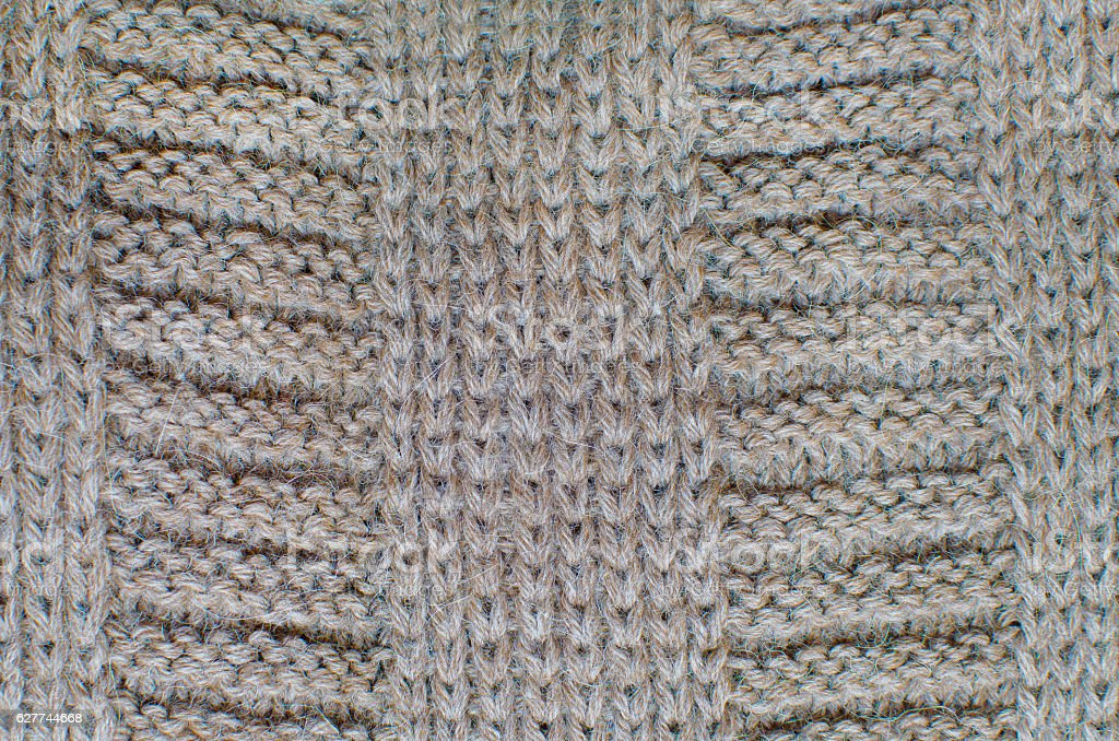 Knitted Woolen Background stock photo