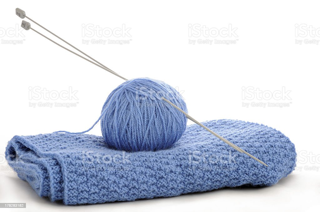 knitting stock photo