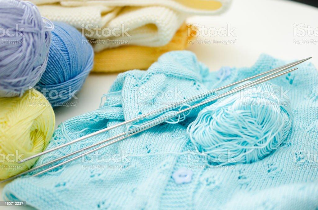 knitting sweater