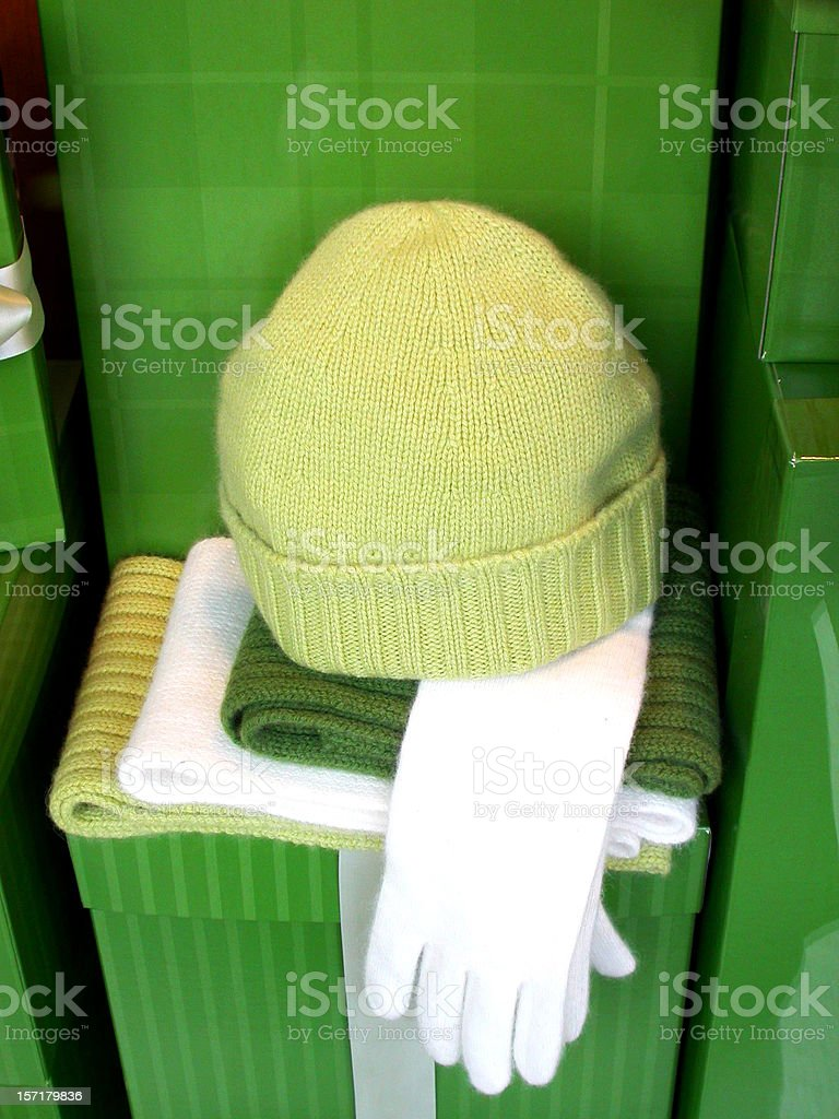 Knitwear Accessories royalty-free stock photo
