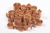 Knobbed Montessori Cylinders
