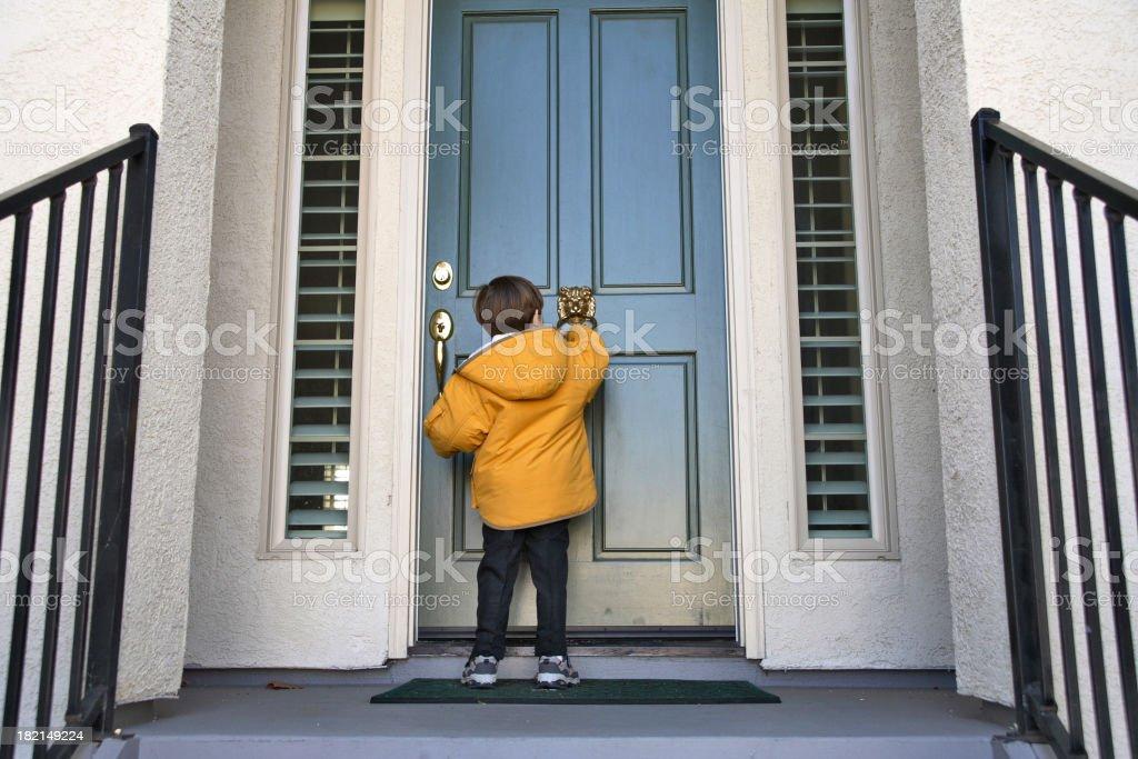 Knock Knocks royalty-free stock photo