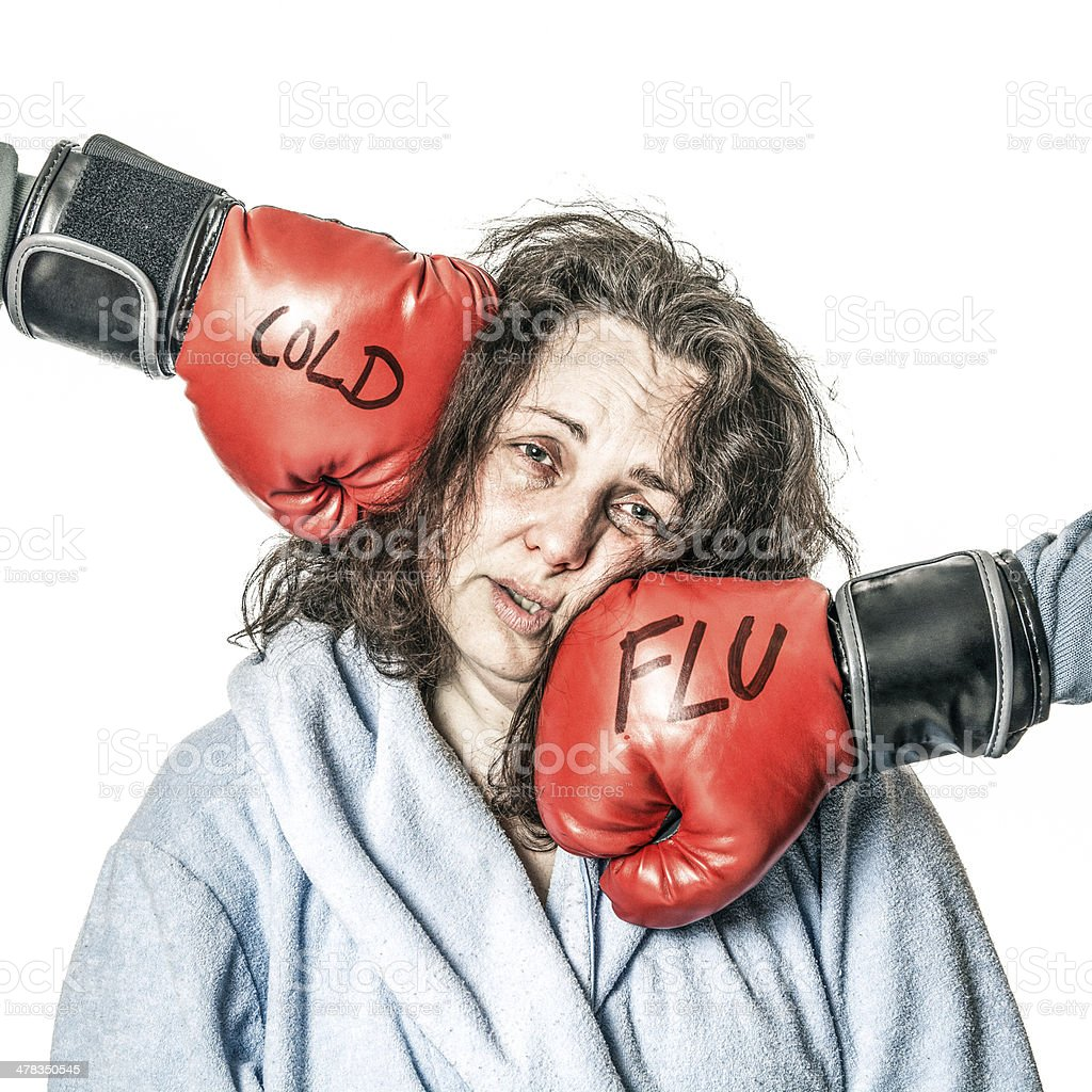 Knockdown. royalty-free stock photo