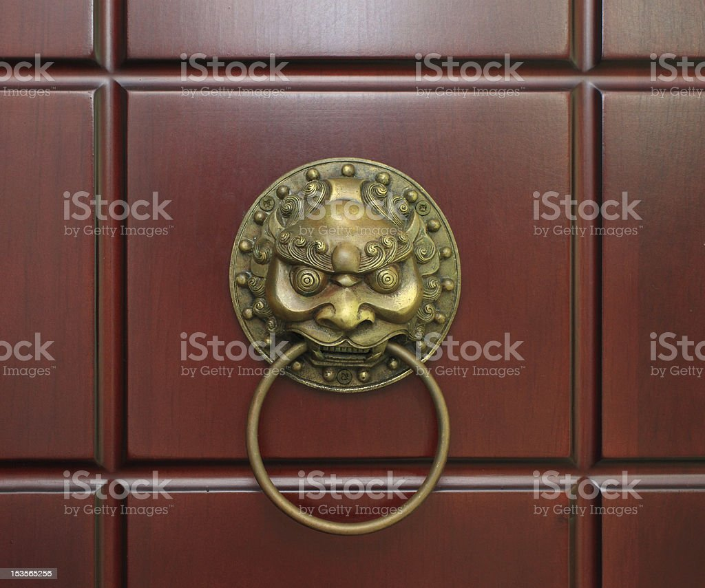 Knocker royalty-free stock photo