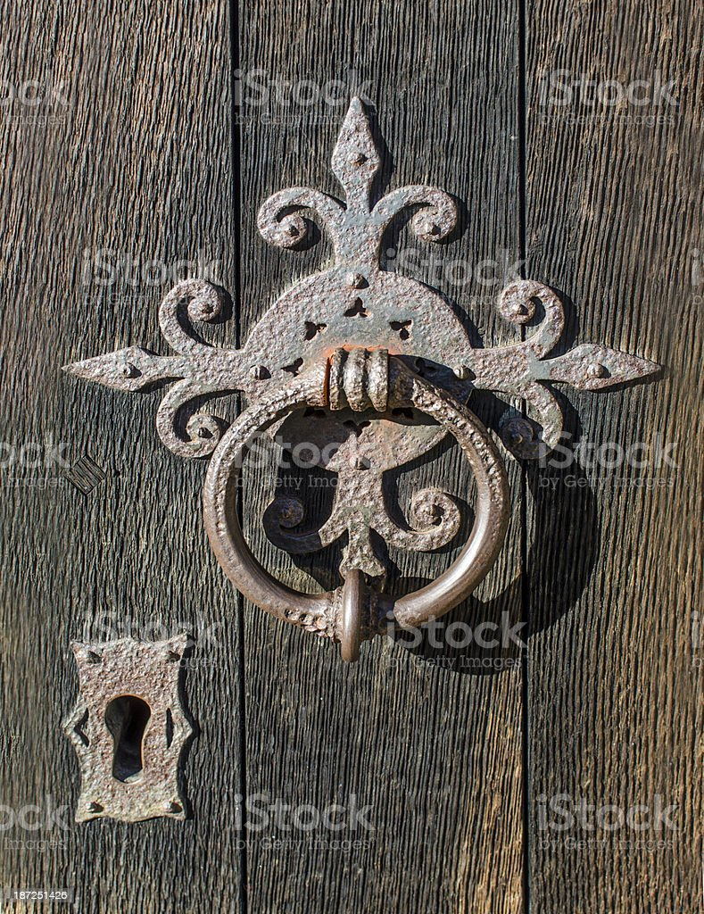 Knocker royalty-free stock photo