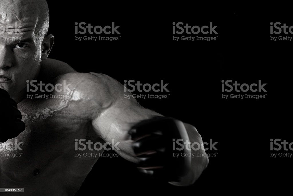Knockout royalty-free stock photo