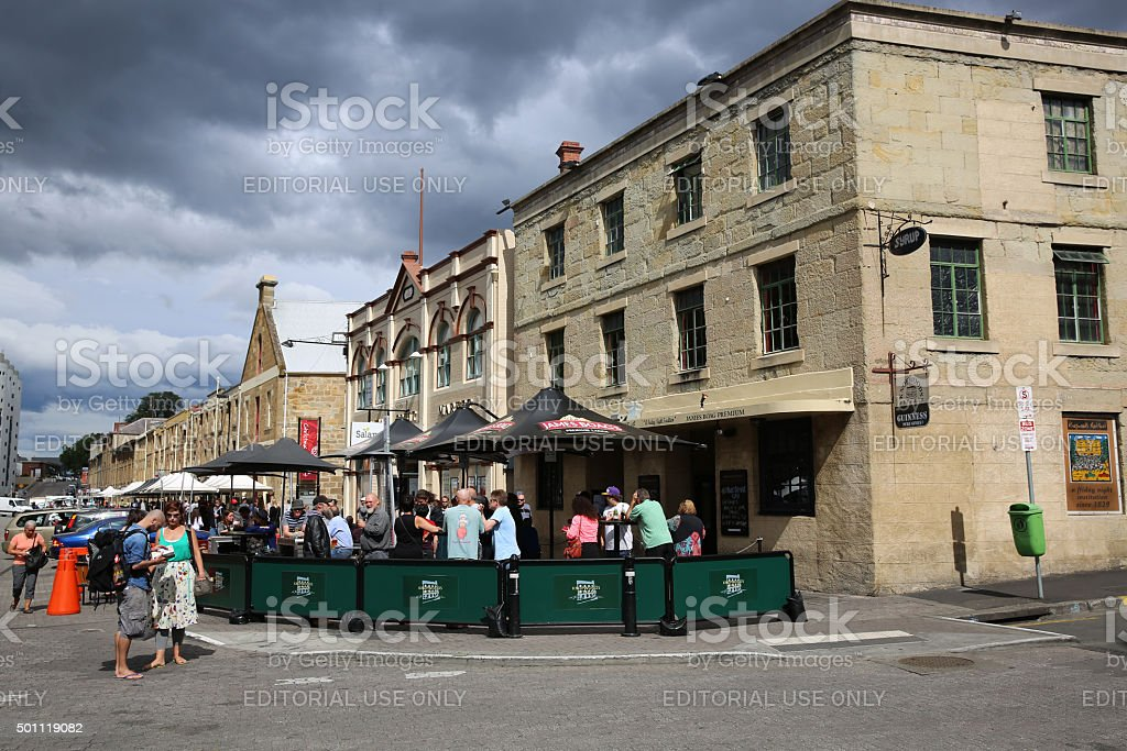 Knopwoods in Hobart stock photo