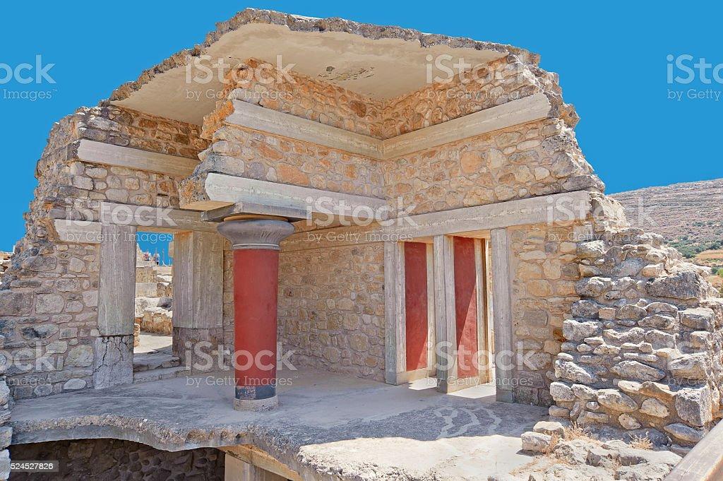 Knossos, Crete, Greece stock photo