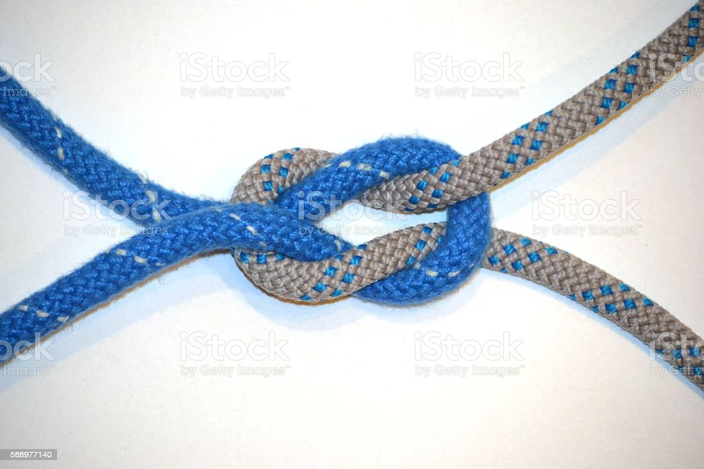 Knot - connection stock photo