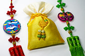 Knot Crafts and lucky bag of korea traditional