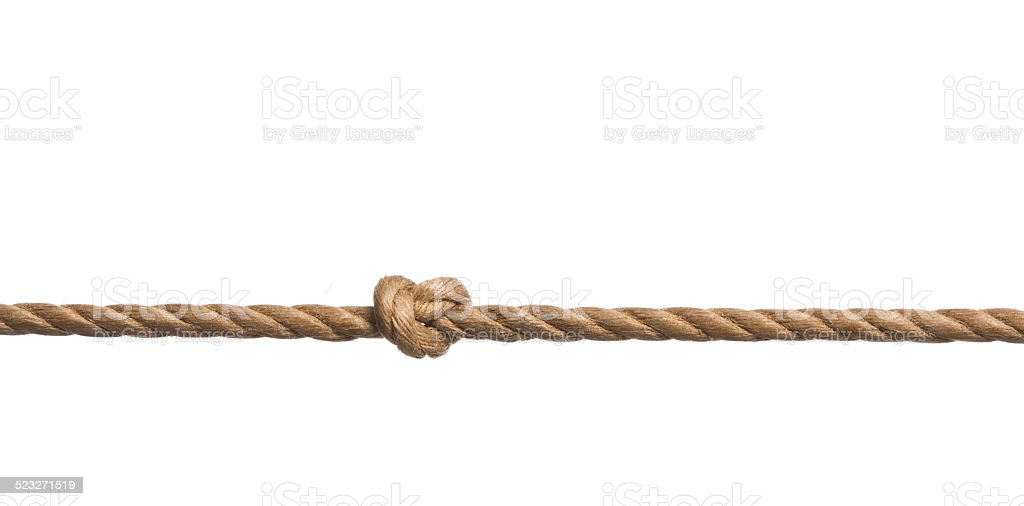 knot Rope stock photo