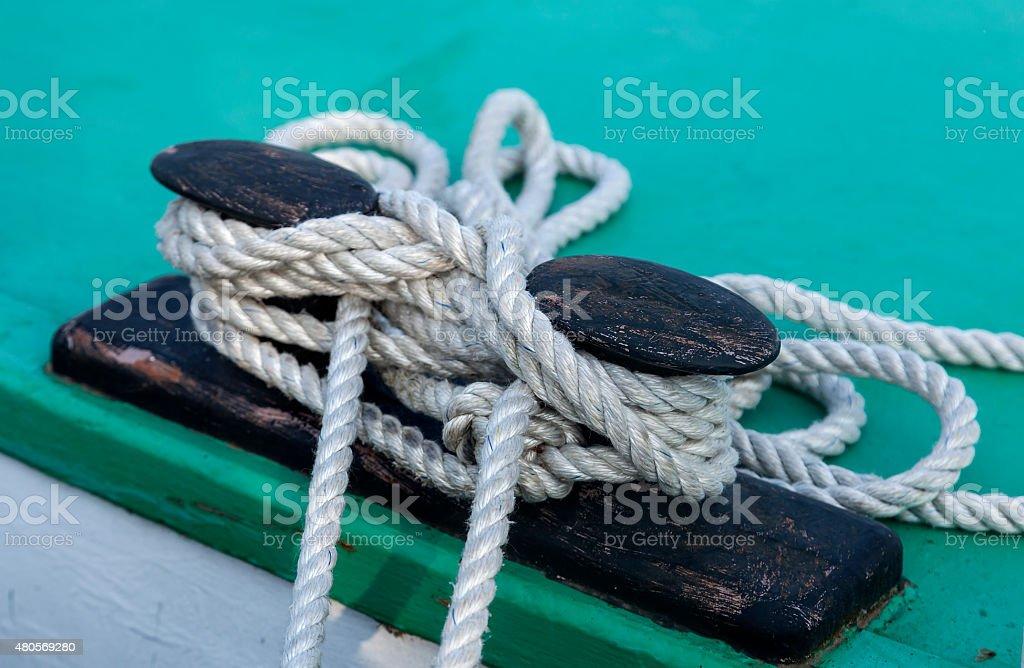 Knots and ropes royalty-free stock photo