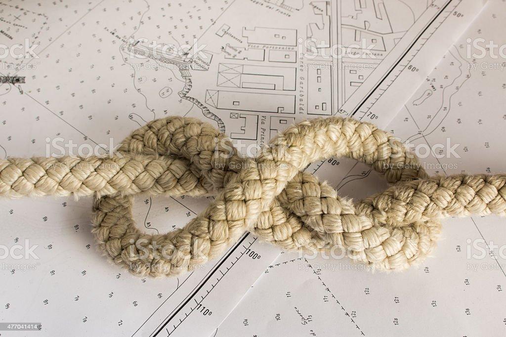 Knots Nautical stock photo