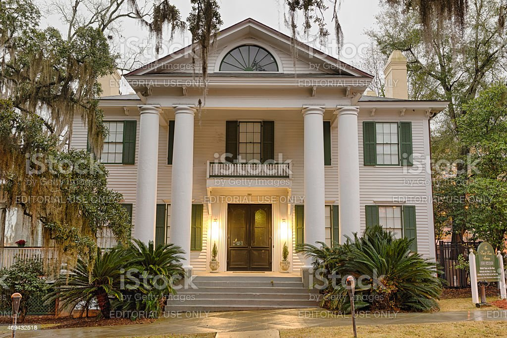 Knott House Museum in Tallahassee, Florida stock photo