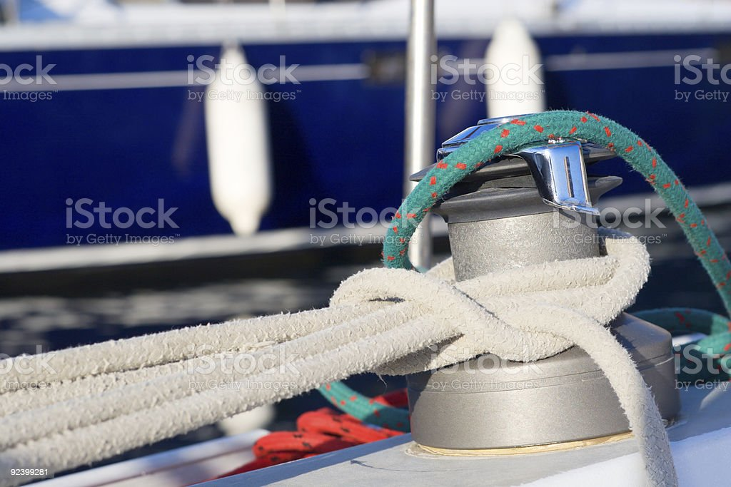 Knotted royalty-free stock photo