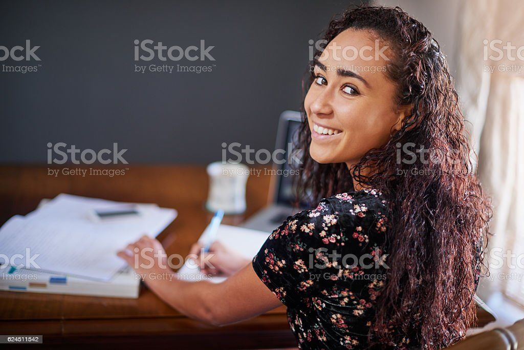 I know exactly what to expect in my exams stock photo