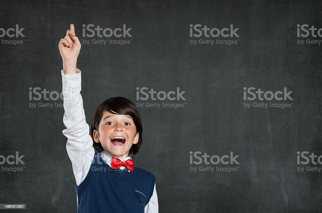 I know it! stock photo