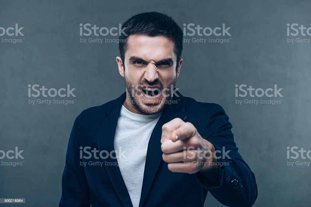 I know that was you! stock photo