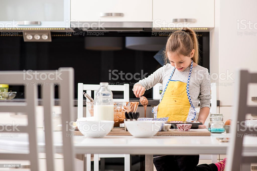 I know the recepie by heart stock photo