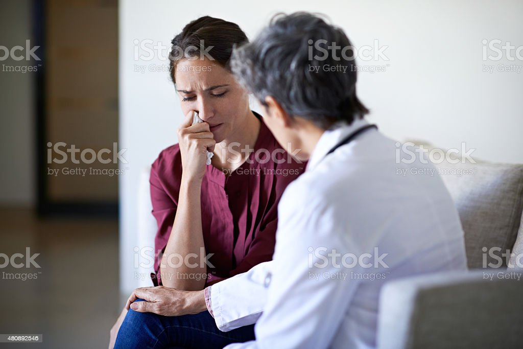 I know this is difficult for you stock photo