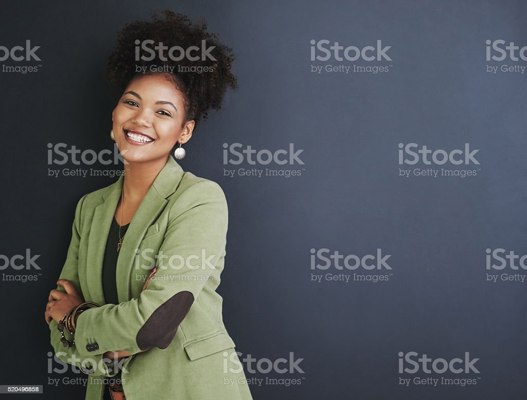 I know what it takes to be a success stock photo
