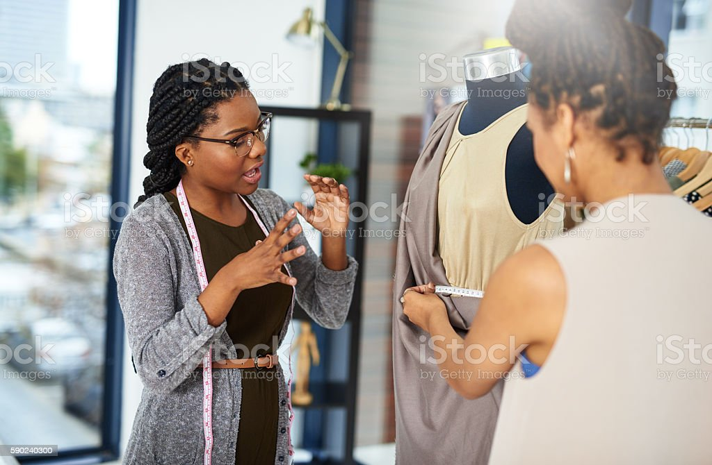 Know what you want and how to communicate it stock photo