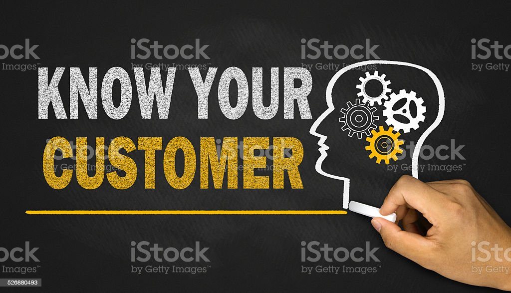 know your customer stock photo
