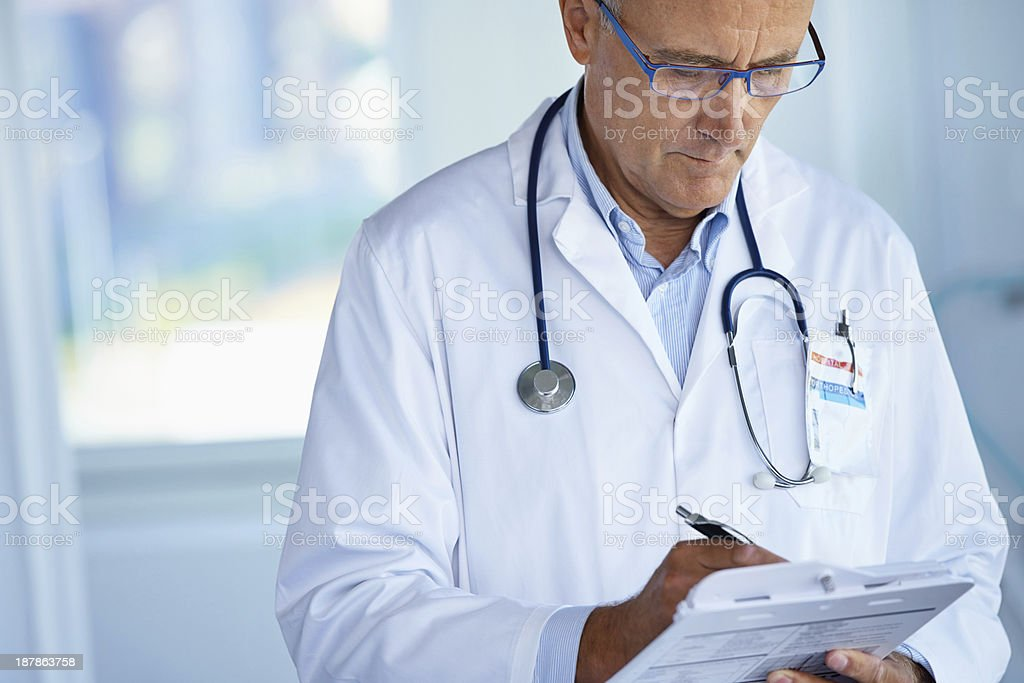 Know your patient stock photo