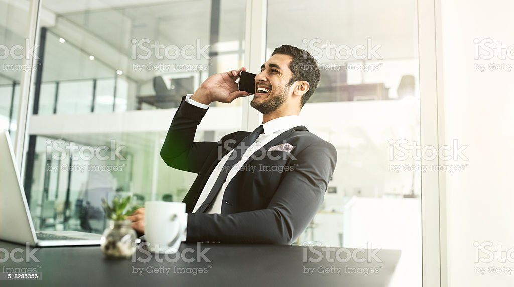 Knowing your client base is key to success stock photo