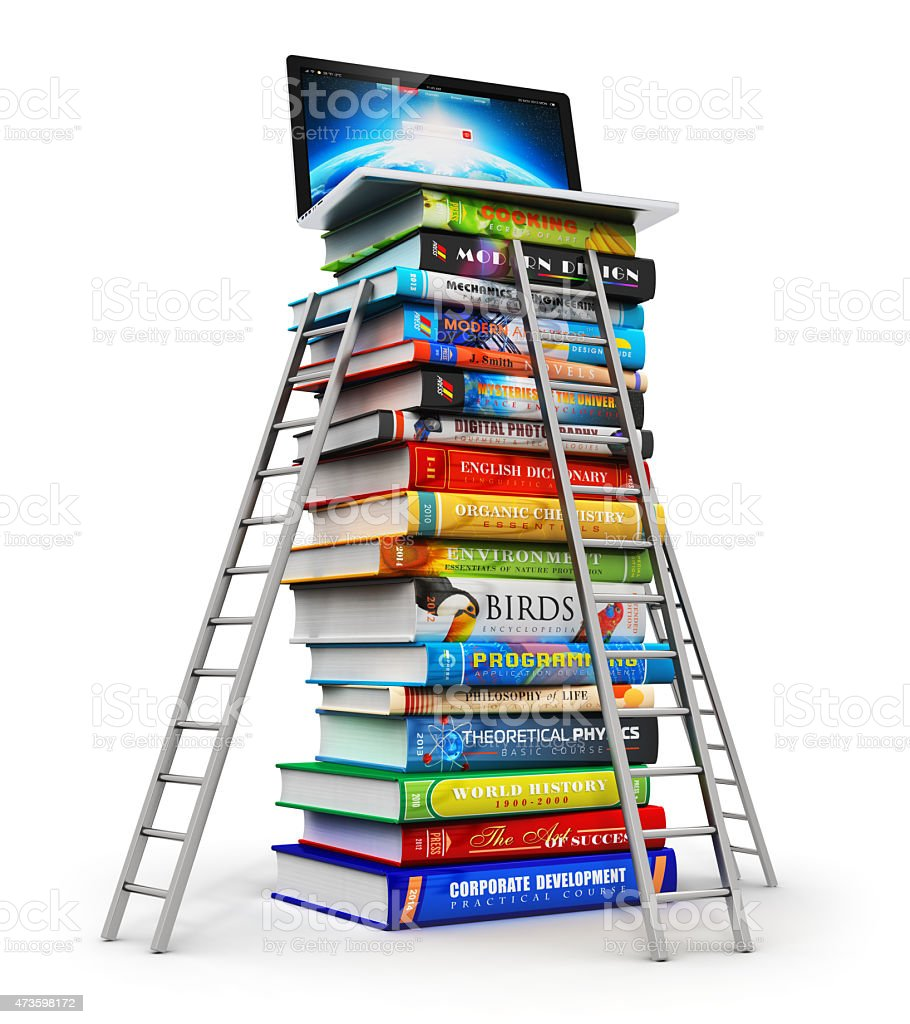 Knowledge and education concept stock photo