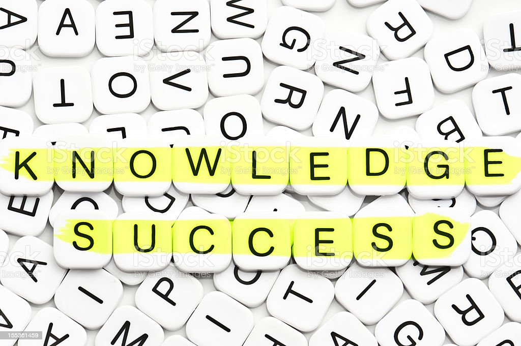 Knowledge and Success royalty-free stock photo