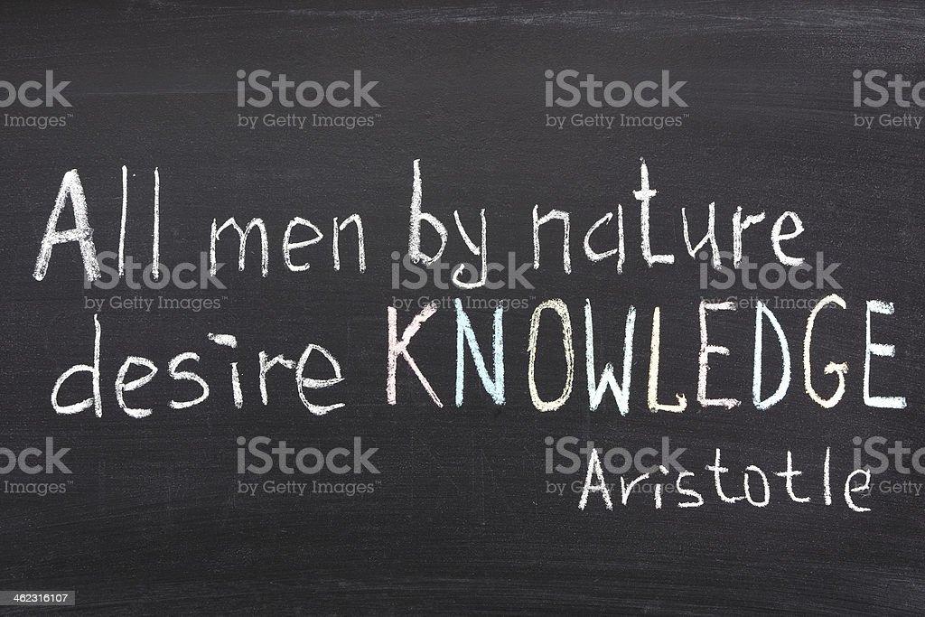 knowledge desire stock photo